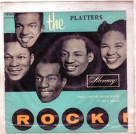 Pochette Sans Disque Sous Plastique - The Platters Et Les Cashmeres - Mercury 14161 - 1956 - - Accessoires, Pochettes & Cartons