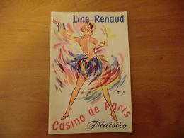 Line Renaud Au Casino De Paris - 1959 - - Theatre