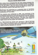 2000 Pitcairn Island Space TOP SECRET USA Recovery Mission Complete Set Of 1 Souvenir Sheet  MNH  **COOL** - Pitcairn Islands