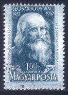 494 Hongrie Léonard De Vinci Leonardo Da Vinci 1952 (HON-307) - Luftpost