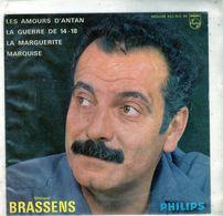 Pochette Sans Disque Sous Plastique - Georges Brassens - Philips 432.903 BE - 1962 - Accessories & Sleeves