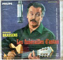 Pochette Sans Disque Sous Plastique - Georges Brassens - Philips 432.513 BE - 1960 - Zubehör & Versandtaschen