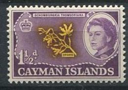 244 CAIMANS (Iles) 1962 - Yvert 159 - Orchidee - Neuf ** (MNH) Sans Trace De Charniere - Cayman Islands