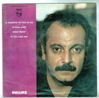 Pochette Sans Disque Sous Plastique - Georges Brassens - Philips 432.815 BE - 1962 - Accessories & Sleeves