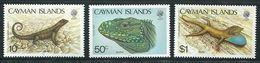 244 CAIMANS (Iles) 1987 - Yvert 607/09 - Reptile Lezard Dragon - Neuf ** (MNH) Sans Trace De Charniere - Cayman Islands