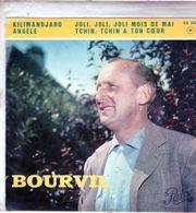 Pochette Sans Disque Sous Plastique - Bourvil - Pathé EG 565 - 1961 - Accessoires, Pochettes & Cartons