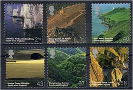 244 GRANDE BRETAGNE 2005 - Yvert 2616/21 - Paysages - Neuf ** (MNH) Sans Trace De Charniere - Ungebraucht