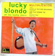 Pochette Sans Disque Sous Plastique - Lucky Blondo - Fontana 460.799 - 1962 - Accessoires, Pochettes & Cartons