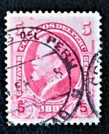 PRESIDENT NICOLAS PIEROLA 1897 - OBLITERE - YT 122 - MI 114 - Peru