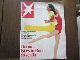 MAGAZINE STERN MARZ  1968  N 12    DARUM IST ES IN BONN SO SCHON - Voyage & Divertissement