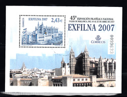 Spanje 2007 Mi Nr Blok 161,  Exfilan 2007 Palma De Mallorca - 2001-10 Afgestempeld