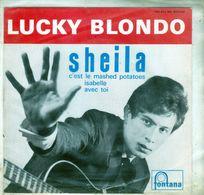 Pochette Sans Disque Sous Plastique - Lucky Blondo - Fontana 460.843 - 1962 - Accessoires, Pochettes & Cartons