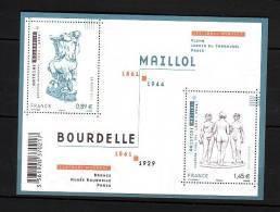 2011-N°F4626**(4626/4627) SCULPTURES - Francia