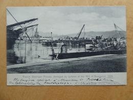 "HONG KONG  FRANCE Typhon Du 18 Septembre 1906    ""French Destroyer Fronde Damaged.."" - Chine (Hong Kong)"