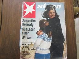 MAGAZINE STERN MARZ  1967  N 11    JACQUELINE KENNEDY DAS LEBEN EINER WITWE HITLER ATOMBOMBE - Voyage & Divertissement