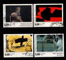 FRANCE - 1992 - YT N° 2779 / 2782 - Oblitérés - Arts Contemporain - Gebruikt