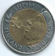 Finland - 10 Markkaa - 1999 - EU Presidency - KM91 - Finland