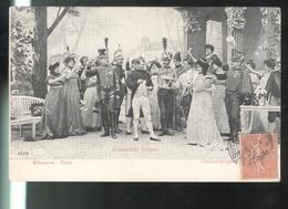 CPA Napoléon 1er - Bonaparte Intime - Cinématographes Pathé - Circulée 1908 - Personnages