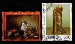 FRANCE - 1997 - YT N° 3104 / 3105 - Oblitérés - Série Tableaux - Used Stamps