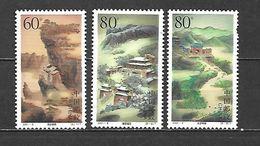 2001 - N. 3899/901** (CATALOGO YVERT & TELLIER) - 1949 - ... Repubblica Popolare