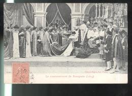 CPA Napoléon 1er - Le Couronnement De Bonaparte 1804 - Cinématographes Pathé - Circulée 1908 - Personnages