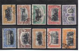 POL1159 RUMÄNIEN 1906 MICHL 187/96 Used / Gestempelt SIEHE ABBILDUNG - 1918-1948 Ferdinand, Carol II. & Mihai I.