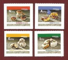 Portugal   2019 , Kuchen + Kekse  Compl. Set - Selbstklebend / Self-adhesive - Postfrisch / MNH / (**) - Unused Stamps