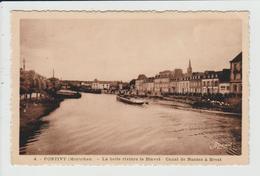 PONTIVY - MORBIHAN - LA BELLE RIVIERE LE BLAVET - CANAL DE NANTES A BREST - Pontivy