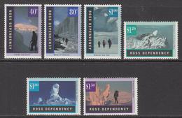 1996 Ross Dependency Antarctic Landscapes Complete Set Of 6 MNH @ BELOW FACE VALUE - Nuovi