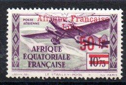 A.E.F. - YT PA N° 21 - Neuf * - MH - Cote: 13,50 € - A.E.F. (1936-1958)