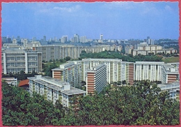 Old 1981's View From Mount Faber Of Housing Estate_Singapore Highrise Flats Buit By Government (UNC)_A34 AMA_S'pore-cpc - Singapore