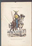 Costumes De Paris à Travers Les Siècles / Lot + De 30 Images Pochoirs / Métiers, Soldats, Personnalités... - Old Paper