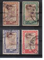 POL1158 RUMÄNIEN 1907 MICHL 208/11 Used / Gestempelt SIEHE ABBILDUNG - 1918-1948 Ferdinand, Carol II. & Mihai I.