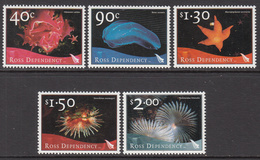 2003 Ross Dependency Marine Life Complete Set Of 5 MNH @ BELOW FACE VALUE - Nuovi