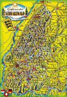 1 Map Of Germany * 1 Ansichtskarte Mit Der Landkarte - Grüße Aus Dem Schwarzwald - Krüger Karte * - Maps