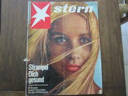 MAGAZINE STERN JUNI 1966  N 26 STRAMPEL DICH GESUND B BUSH TESTET FAHRRADER FUR DEN KOFFERRAUN - Voyage & Divertissement