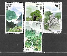 2001 - N. 3947/50** (CATALOGO YVERT & TELLIER) - 1949 - ... Repubblica Popolare