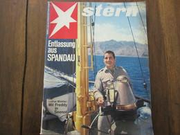 MAGAZINE STERN OKTOBER 1966  N 42 ENTLASSUNG AUS SPANDAU LOTHAR WINKLER MIT FREDDY IN SEENOT - Voyage & Divertissement