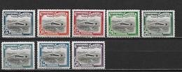 MOZAMBIQUE (Cie) - Poste Aérienne 1935  - AE 11 à 18 ** Cote YT : 2,5 Euros - Mosambik