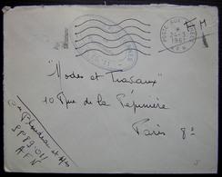 Algérie 1961 Cachet Affaires Algériennes S.P. 89. 011 (A.F.N) - Algérie (1924-1962)