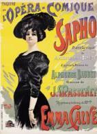 @@@ MAGNET - L'Opera Comique Sapho Emma Calve - Pubblicitari