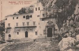 ***  Sicilia *** PALERME  Monte Pellegrino La Grotta Di S Rosalia - Dos Simple Unused - TTBE - Palermo
