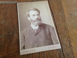 KOENIGSBERG I PR - GOTTHEIL & SOHN - HERR MIT VOLLBART - 1884 - Persone Anonimi