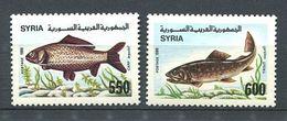 244 SYRIE 1999 - Yvert 874/75 - Poisson - Neuf ** (MNH) Sans Trace De Charniere - Syria