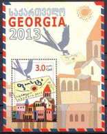 Georgie Georgia 2013 Post Block MNH** - Géorgie