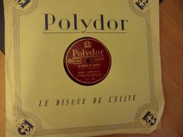 Disque 78 Tour Polydor De Robert Lamoureux - La Chasse Au Canard 1 Et 2 Partie -enregistrement Spécial Réalisé En Public - 78 Rpm - Schellackplatten