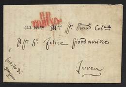 DA TORINO A IVREA - 29.1.1838. - Italy