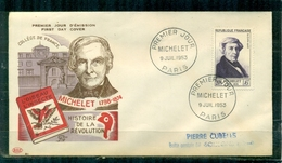 "FDC ""Edition PAC "" FRANCE-1953 # Michelet, PJ Paris (N°Yvert 949 )  - Cote  15,00 Euros - FDC"