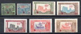 TUNISIE - YT N° 59 à 65 - Neufs * - MH - Cote: 165,00 € - Neufs