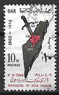 PALESTINE    -    Massacre De Deir Yassin ,  Oblitéré. - Palestine